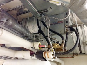 Part of the heat pump system at AEL&P. (Photo provided by Alec Mesdag)