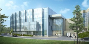 An artist's rendering of the new Engineering building at UAF. (Image courtesy the College of Engineering and Mines website)