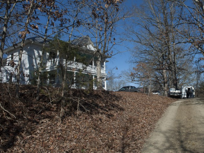 The Millboro, Va., home of state Sen. Creigh Deeds. He was attacked there Tuesday — authorities believe by his son Gus. The younger Deeds then may have fatally shot himself, investigators say. Don Petersen/AP