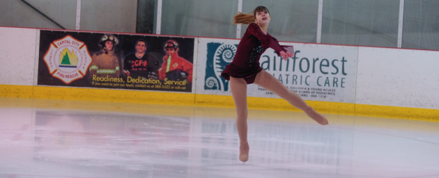 Josephine Zuelow closes out the Preliminary category, which featured five skaters during the competition at Treadwell Ice Arena.