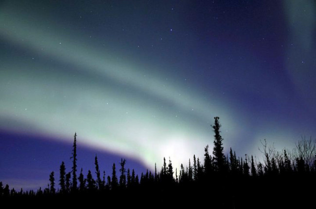 The northern lights draw tourists from around the world to Fairbanks. (Photo by Heather Bryant)